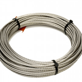 CABLE INOX 316L 7x7 - 12 M KABLI 250 RD 5